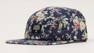 5 Panel Floral Hat
