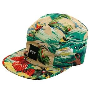 5 Panel Hat Floral