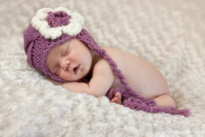 Baby Girl Knit Hats