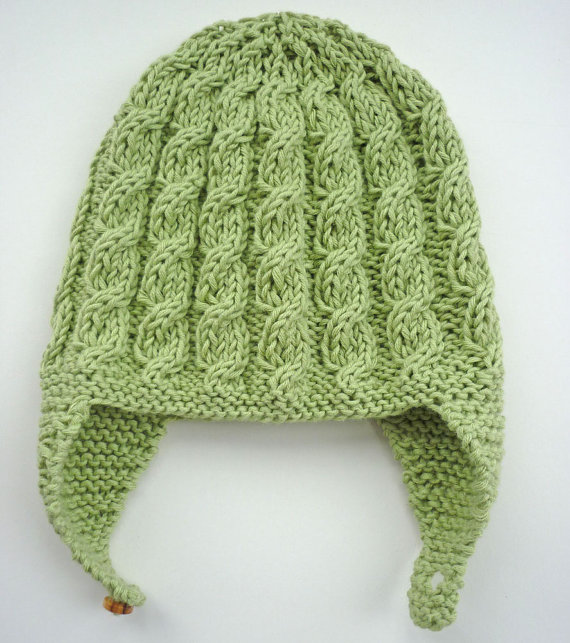 How To Knit A Baby Hat With Ears Hurting