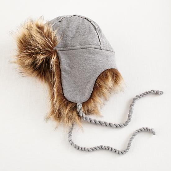 9 Baby Hats for Winter to Keep Little Heads Warm. Baby Gap Cozy Plaid Bear Trapper Hat. $17 BUY NOW. Just like your favorite denim shirt, Gap's plaid bear trapper hat is soft and stylish. This go-with-everything bear is the perfect headgear for your little cub to wear everyday.