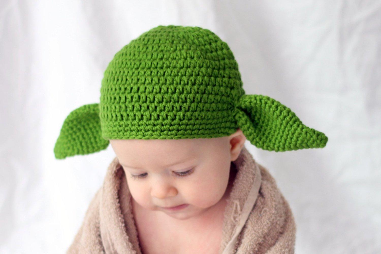 Baby Yoda Hat Knitting Pattern : Yoda Hats   Tag Hats
