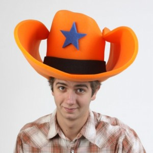 Big Foam Cowboy Hat