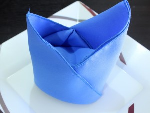 Bishop Hat Napkin Fold