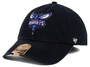 Black Charlotte Hornets Hat