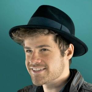 Black Fedora Hat for Men