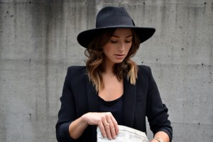 Black Fedora Hats for Women