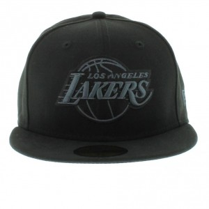 Black Lakers Hat