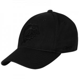 Black Miami Dolphins Hat