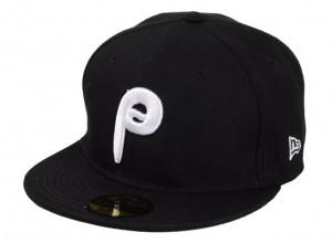 Black Phillies Hat