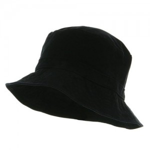 Black Polo Bucket Hat