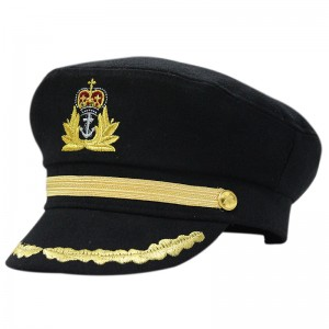 Black Sailor Hat