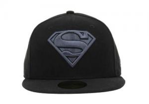 Black Superman Hat