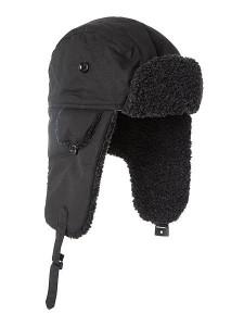 Black Trapper Hat
