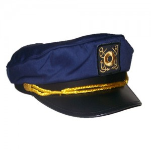 Blue Sailor Hat