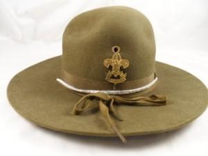 Boy Scout Campaign Hat