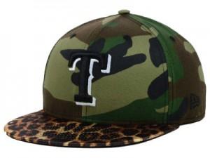Camo Texas Rangers Hat