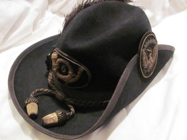 how to make a civil war hat