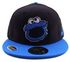 Cookie Monster Flat Bill Hat