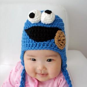 Cookie Monster Hat Crochet
