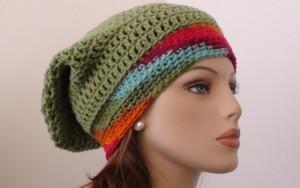 Crochet Pattern Slouchy Hat
