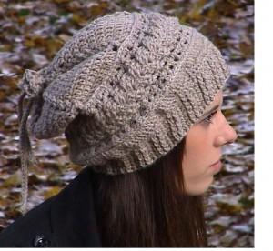 Crochet Slouch Hat Pattern