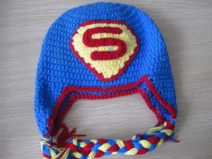 Crochet Superman Hats