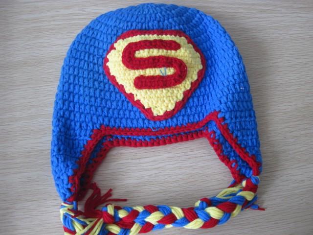 Superman Crochet Beanie www.imgarcade.com - Online Image ...