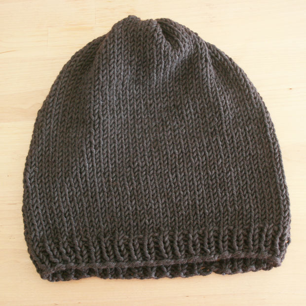 Easy Knitting Pattern For A Hat : Knitting Hats   Tag Hats