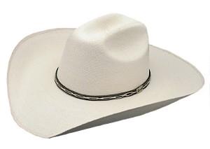 Flat Brim Cowboy Hat