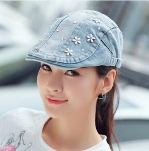 Flat Cap Hat Women