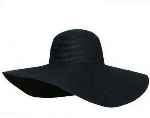 Floppy Sun Hat Black