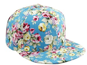 Floral Fitted Hat