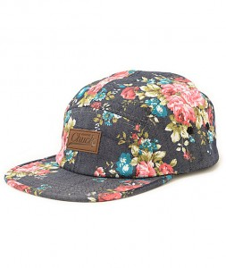 Floral Panel Hat