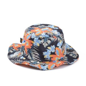Hawaiian Print Hats