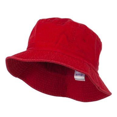 Contrast Soft Bucket Hat | plain adults sun hats | buy ...  |Red Bucket Hat