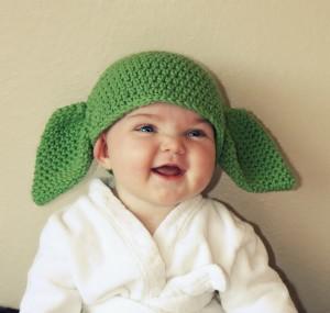 Infant Yoda Hat