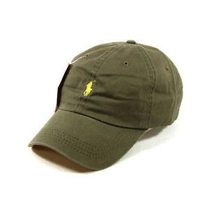 Khaki Polo Hat