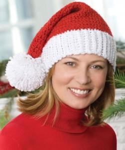 Knit Santa Hat