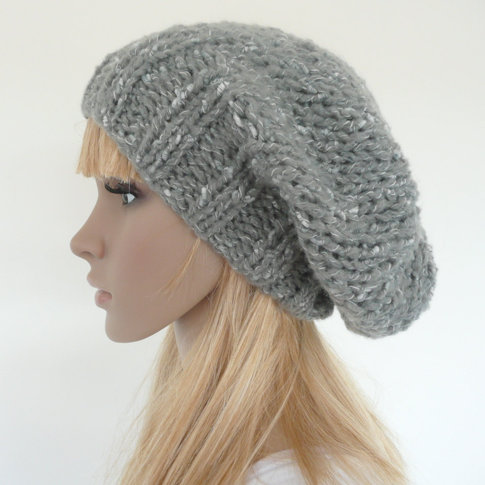 Knitting Pattern For Slouchy Hat : Slouch Hats   Tag Hats