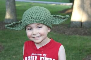 Knit Yoda Hat