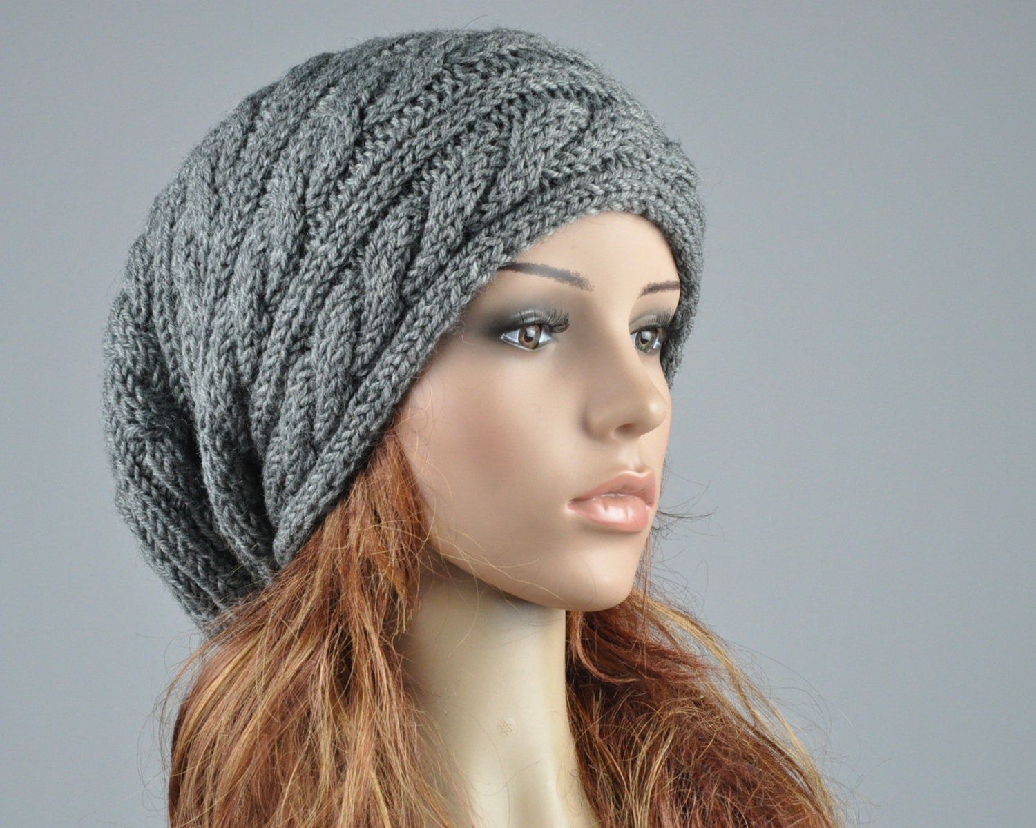 Toddler Knit Slouchy Hat Hats