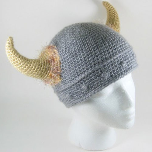 Free Knitting Patterns For Baby Toys : Viking Hats   Tag Hats