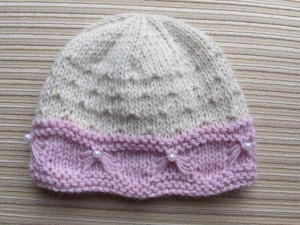 Knitting Baby Hats