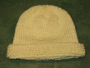 Knitting Patterns for Baby Hats