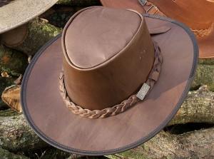 Leather Bush Hat