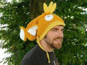 Magikarp Crochet Hat