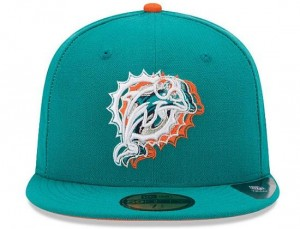Miami Dolphins Fitted Hats