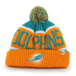Miami Dolphins Knit Hat