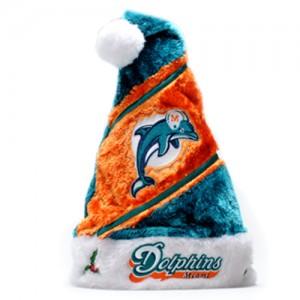 Miami Dolphins Santa Hat